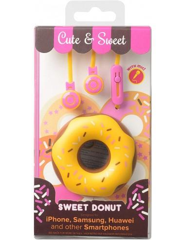 CUTE&SWEET BROWN DONUT