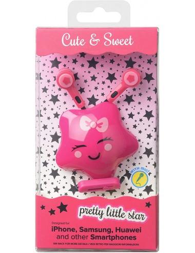 CUTE&SWEET PINK STAR
